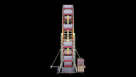 Ferris wheel Animation