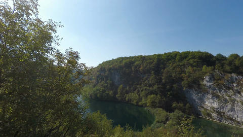 plitvice lakes in croatia Footage