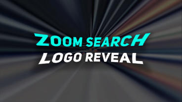 Zoom Logo Reveal (Search Style) After Effects Templates