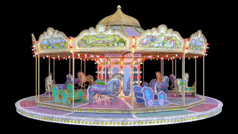 Merry-go-round CG動画