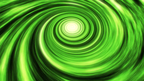 Green Space Time Warp Vortex Animation Background Backdrop Animation