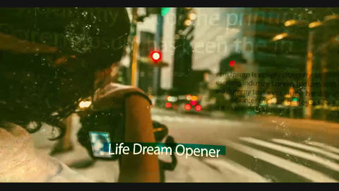 Dream opener After Effects Template