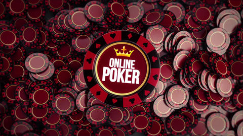 Poker Chips Logo Reveals After Effectsテンプレート