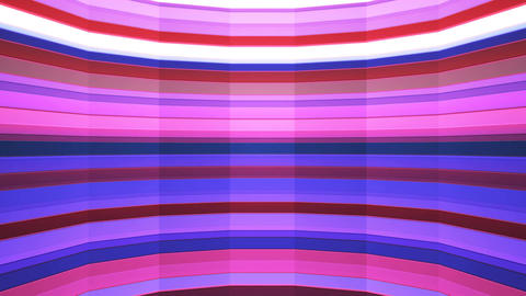 Broadcast Twinkling Horizontal Hi-Tech Bars Shaft, Purple, Abstract, Loopable, Animation