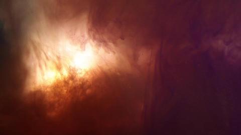 Bright orange and purple dream/fantasy background Footage