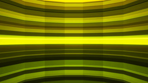 Broadcast Twinkling Horizontal Hi-Tech Bars Shaft, Green, Abstract, Loopable, 4K Animation