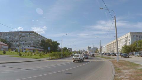 City car road Footage