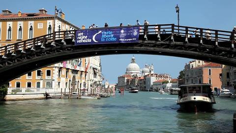 Academmia Bridge Venice Live Action