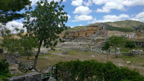 Heropolis near Pamukkale135150 Footage