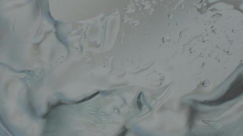 Wind Blowing Ripples in Water Closeup Footage