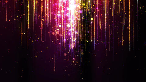Flowing Sparkle Particles 1