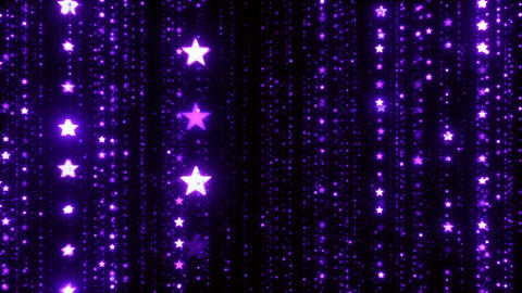 Cg Background of Christmas Purple Stars 画像