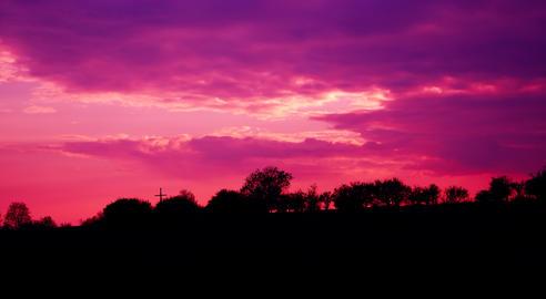 Purple sky Fotografía