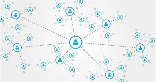 Social Media, Social Network stock footage