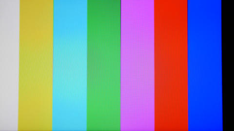 tv static noise color bars signal Footage