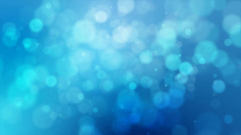 4K Blue abstract abstract background with blur bokeh and lighting effect 002 Footage