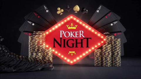 Online Gambling Poker Logo Reveals After Effectsテンプレート