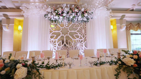 Beautiful Wedding Decorations Live Action