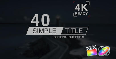 FCP X Titles Pack 1