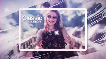 Parallax Photo Gallery ( After Effects Template ) After Effectsテンプレート