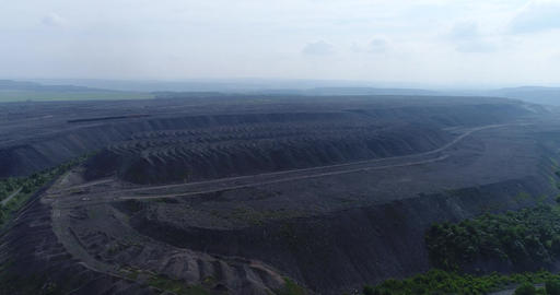 Coal mining waste Footage