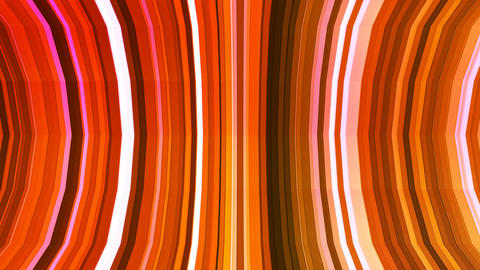 Broadcast Twinkling Vertical Bent Hi-Tech Strips, Orange, Abstract, Loopable, 4K Animation