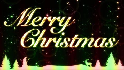 Merry Christmas Animación