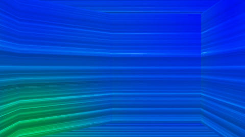 Broadcast Horizontal Hi-Tech Lines Dome, Blue, Abstract, Loopable, 4K Animation