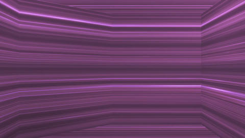 Broadcast Horizontal Hi-Tech Lines Dome, Purple, Abstract, Loopable, 4K Animation
