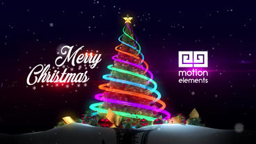 Christmas Tree After Effects Templates