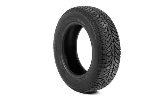 Picture of a black tyre Foto