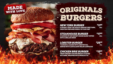 Steak & Burger - Promo After Effects Templates