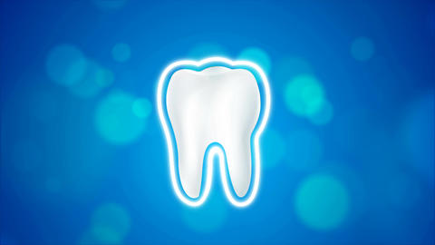 4K animation clean and dirty tooth for Whitening and protection aura healthy Live Action