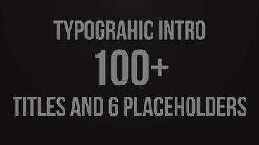 Stomp Typographic Intro Premiere Pro Template