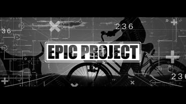 Epic Trailer - Glitch Opener (CS6) Plantilla de After Effects