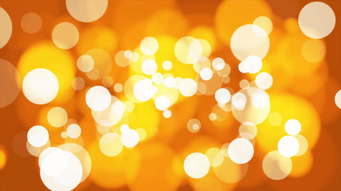 Broadcast Light Bokeh, Golden, Events, Loopable, 4K Animation