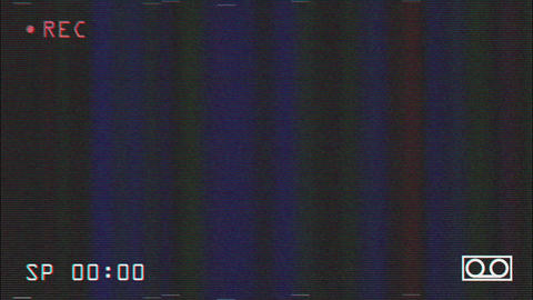 VHS Record Screen Footage