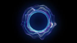 Abstract hole portal Animation