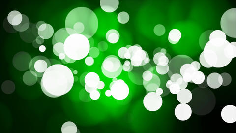 Broadcast Light Bokeh, Green, Events, Loopable, 4K Animation