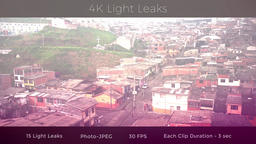 4K Light Leaks 영상물