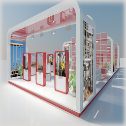 Exhibition Stand 031 Modelo 3D