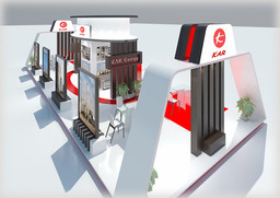 Exhibition Stand 032 Modelo 3D
