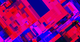 Abstract Distorted Multicolor Geometrical Background stock footage