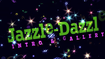 Jazzle Dazzle - Apple Motion Apple Motionテンプレート