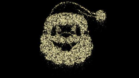 Christmas Particles - Santa Claus Animation