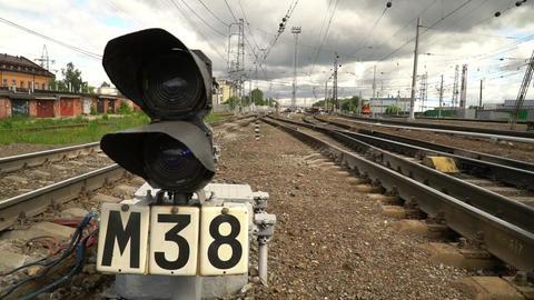 Long-distance Passenger Train. 2
