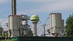 Electrical substation,power station Footage