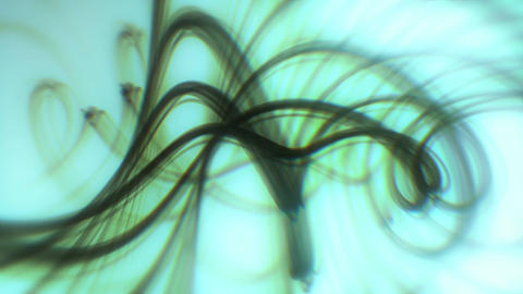 Spirax - Abstract Smoke-Like Spiral Video Background Loop lizenzfreie Videos