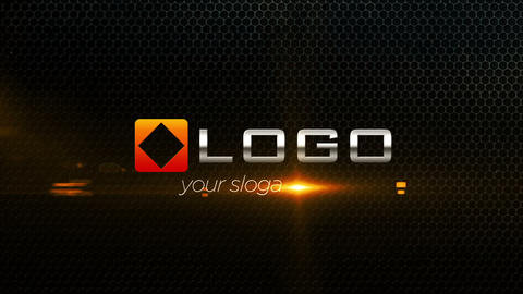 Corporate Logo Text Title 3D Shatter Particles Fire Light Reveal Animation Intro After Effects Template