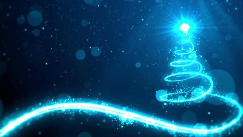 Christmas background ภาพเคลื่อนไหว